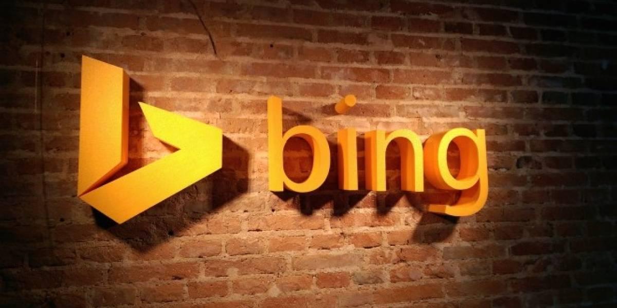 Bing para Android ya te permite realizar búsquedas dentro de otras aplicaciones