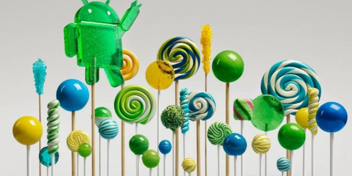 Android Lollipop ya se encuentra en más del 20% de teléfonos Android