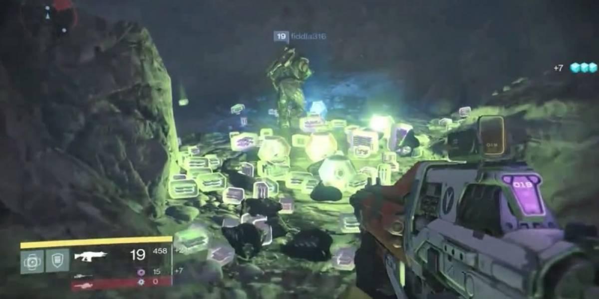 Bungie le pinta el dedo a los farmeros y mata la Caverna del Loot en Destiny