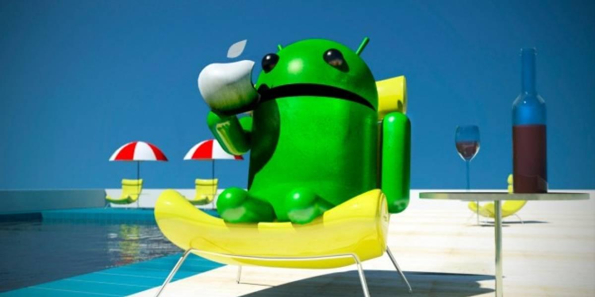 Android y iOS son dueños del 98,4% del mercado móvil