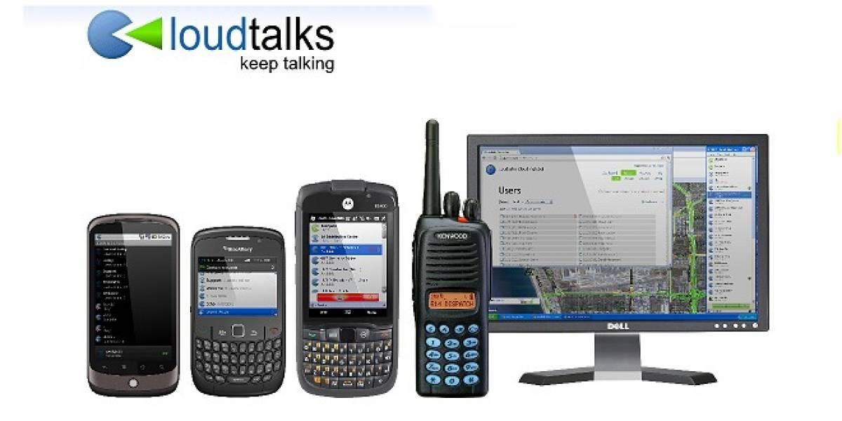 Loudtalks: Comunícate con tus amigos vía push-to-talk totalmente gratis