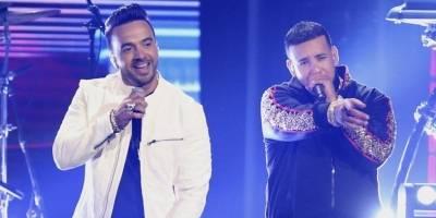 Luis Fonsi y Daddy Yankee cantaron su éxito Despacito.