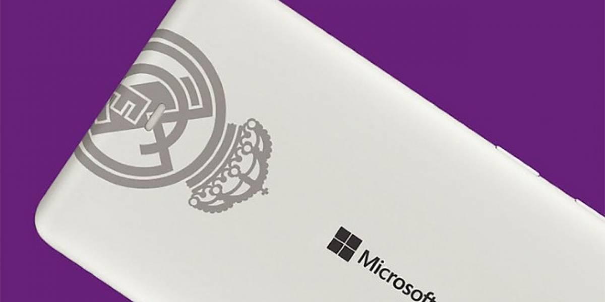 Microsoft anuncia un Lumia 535 Dual SIM Edición especial Real Madrid