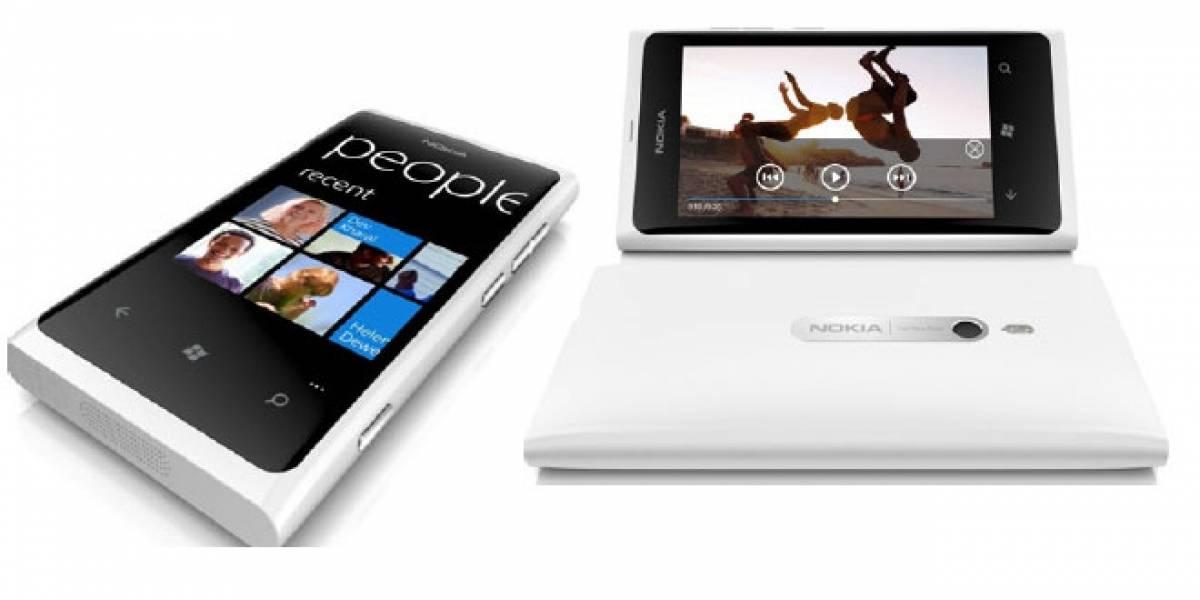 El Nokia Lumia 800 blanco llega a España