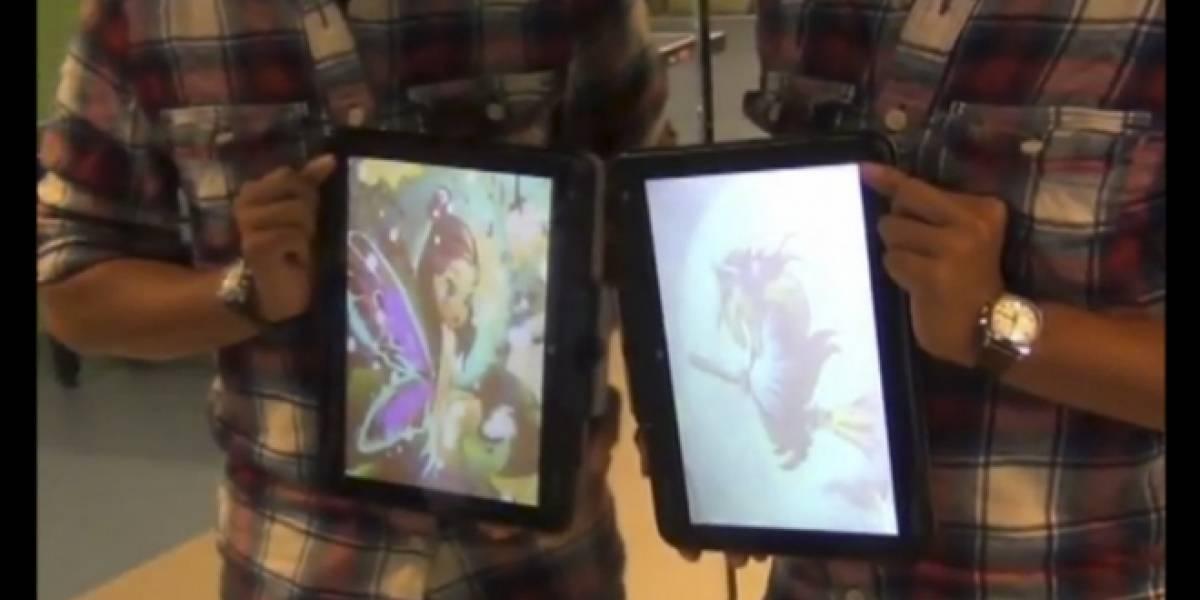 Desarrollan tecnología para ver dos imágenes simultáneas en la misma pantalla LCD