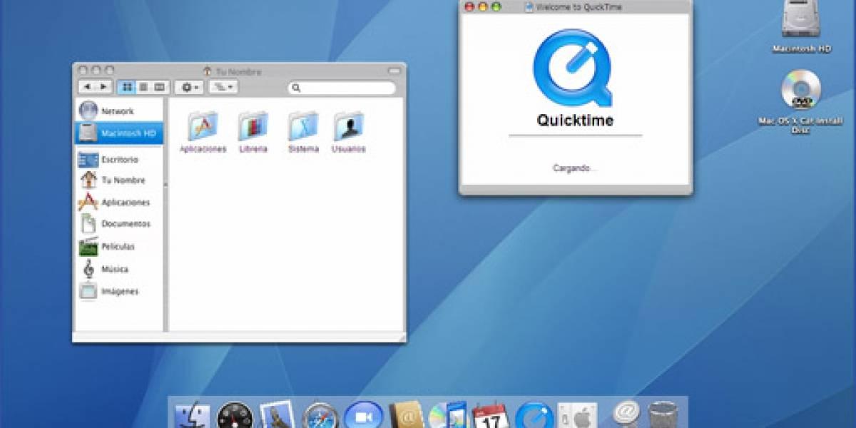 Mac OSX via Web