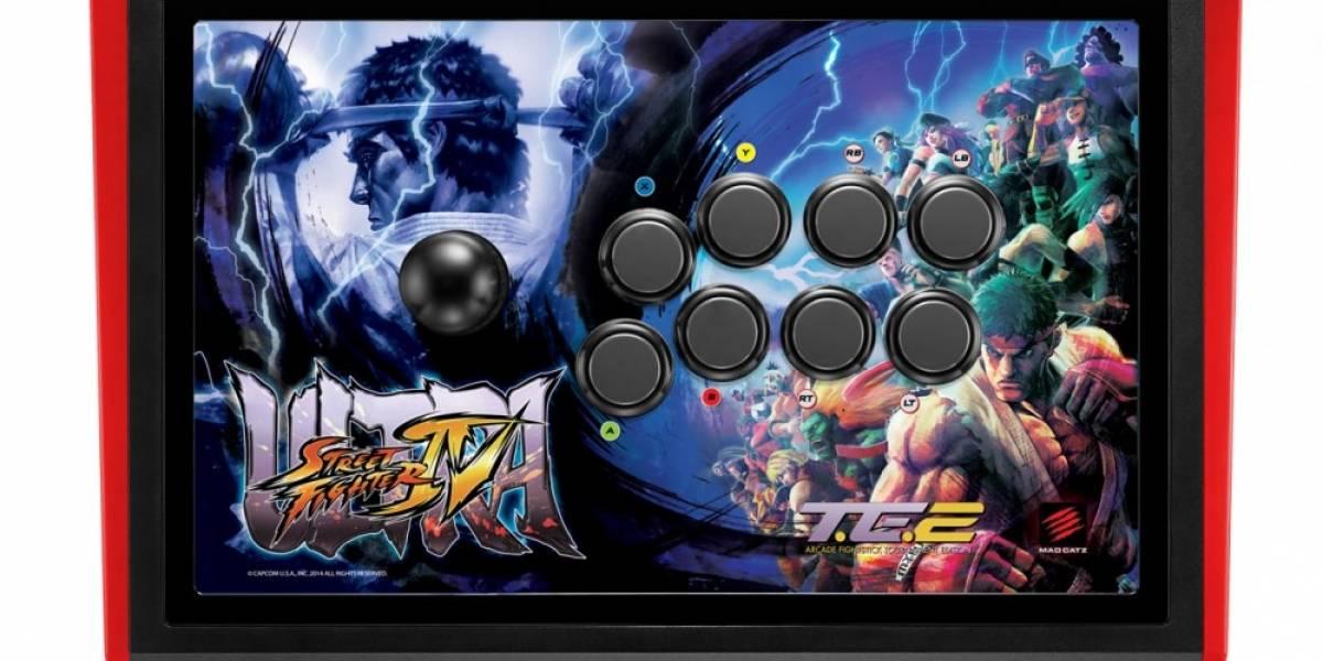 Mad Catz anuncia su primer joystick para PlayStation 4