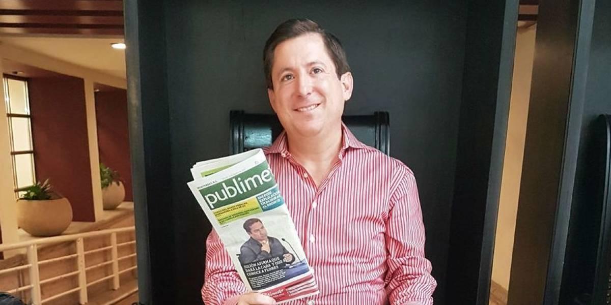 Adalberto Madero renuncia al Partido Acción Nacional