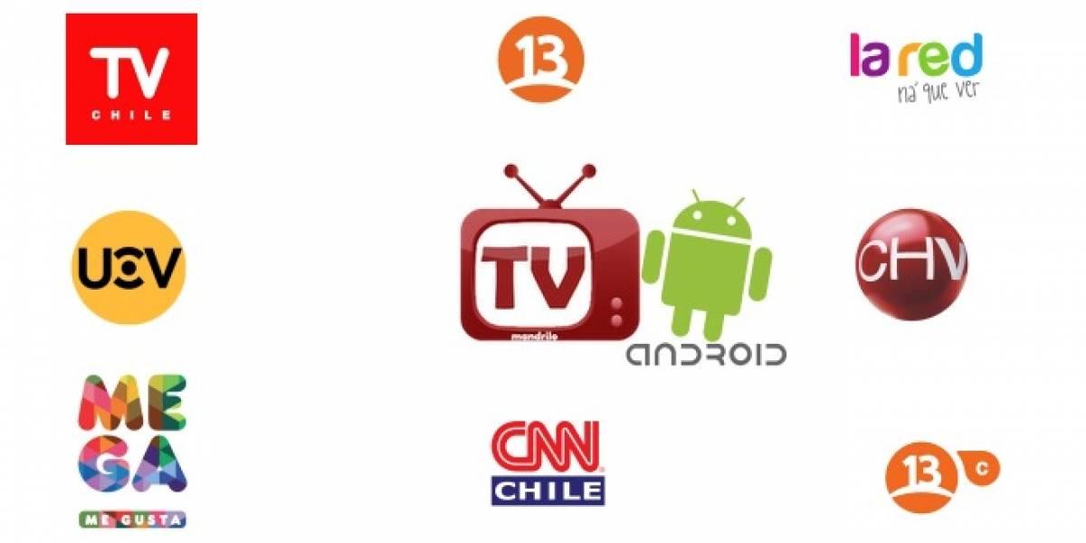 Mandrilo TV Chile: Los canales de TV chilenos en tu Android