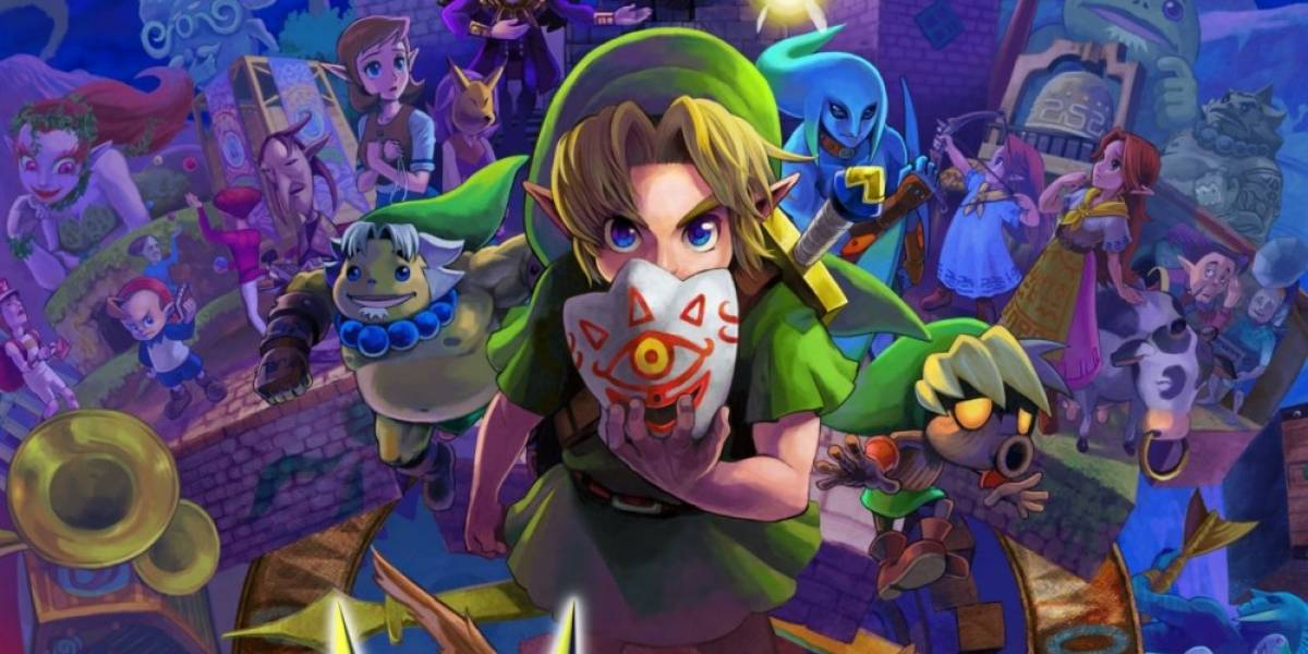 Comparación gráfica de The Legend of Zelda: Majora's Mask