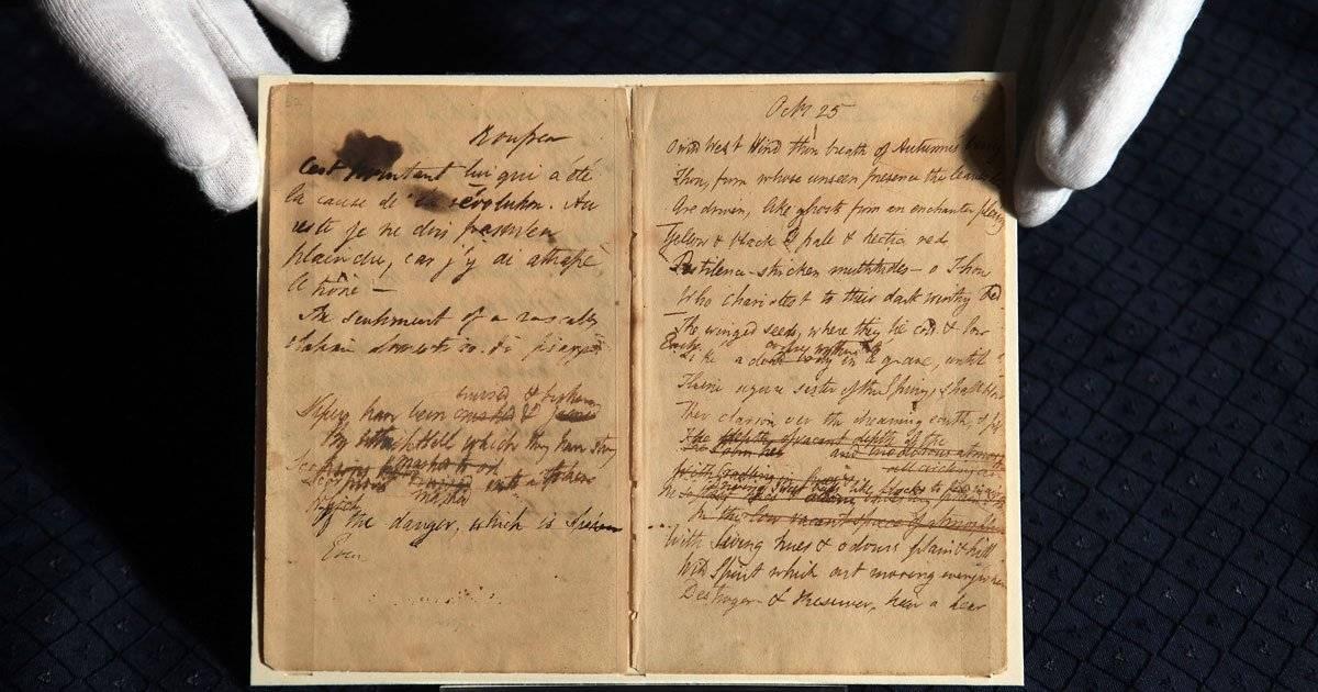 Manuscritos de Mary Shelley