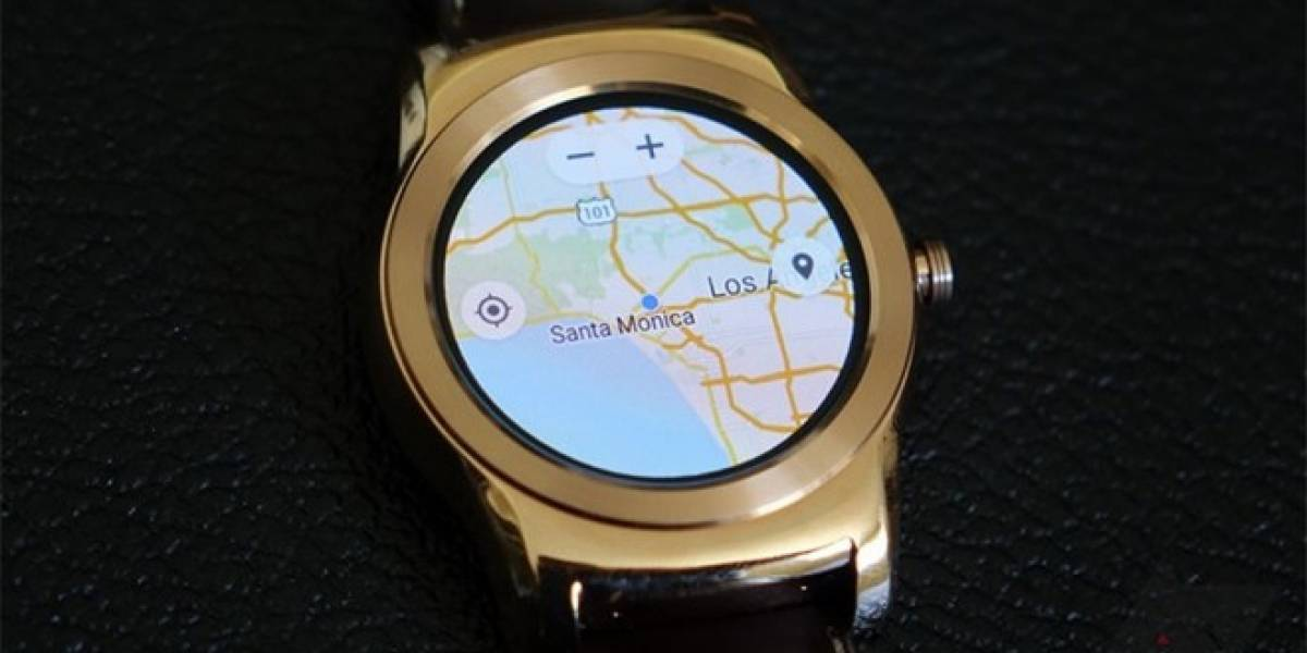 Así se ve Google Maps en Android Wear
