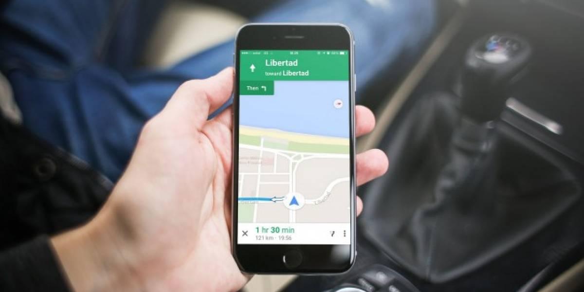 Google finalmente habilita su servicio Navigation en Chile