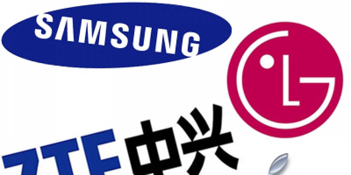 Ranking de los 5 mayores fabricantes de teléfonos móviles del mundo