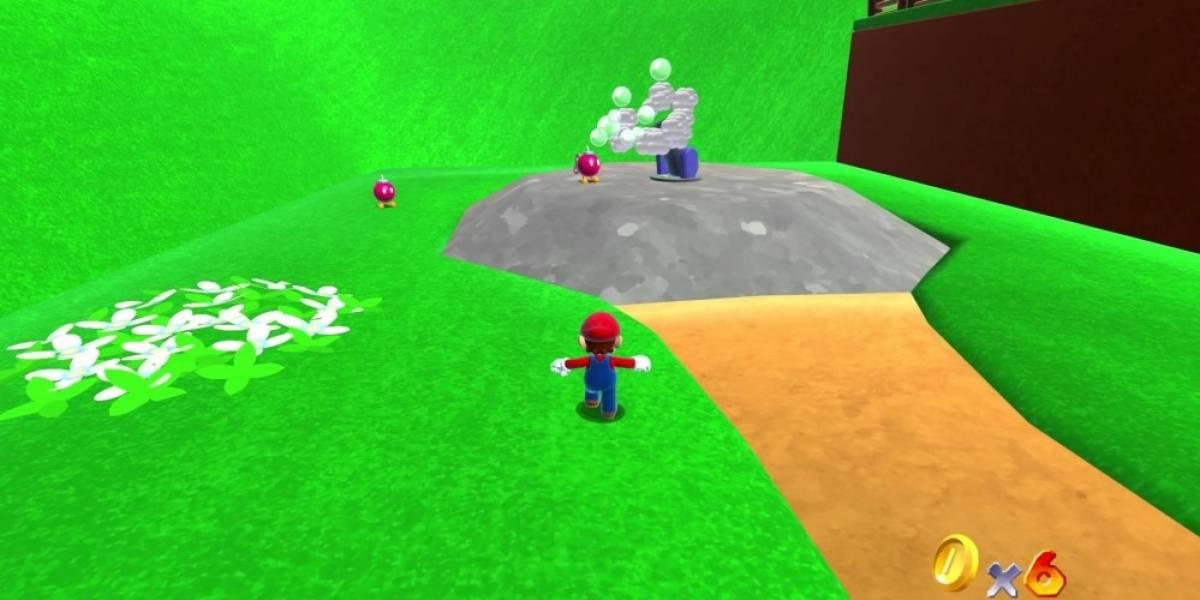 Este Super Mario 64 HD hecho en Unity está genial