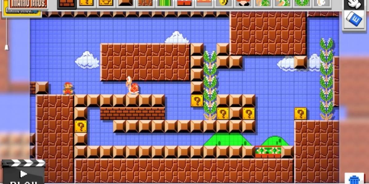Nintendo presenta nuevo tráiler de Mario Maker #TheGameAwards