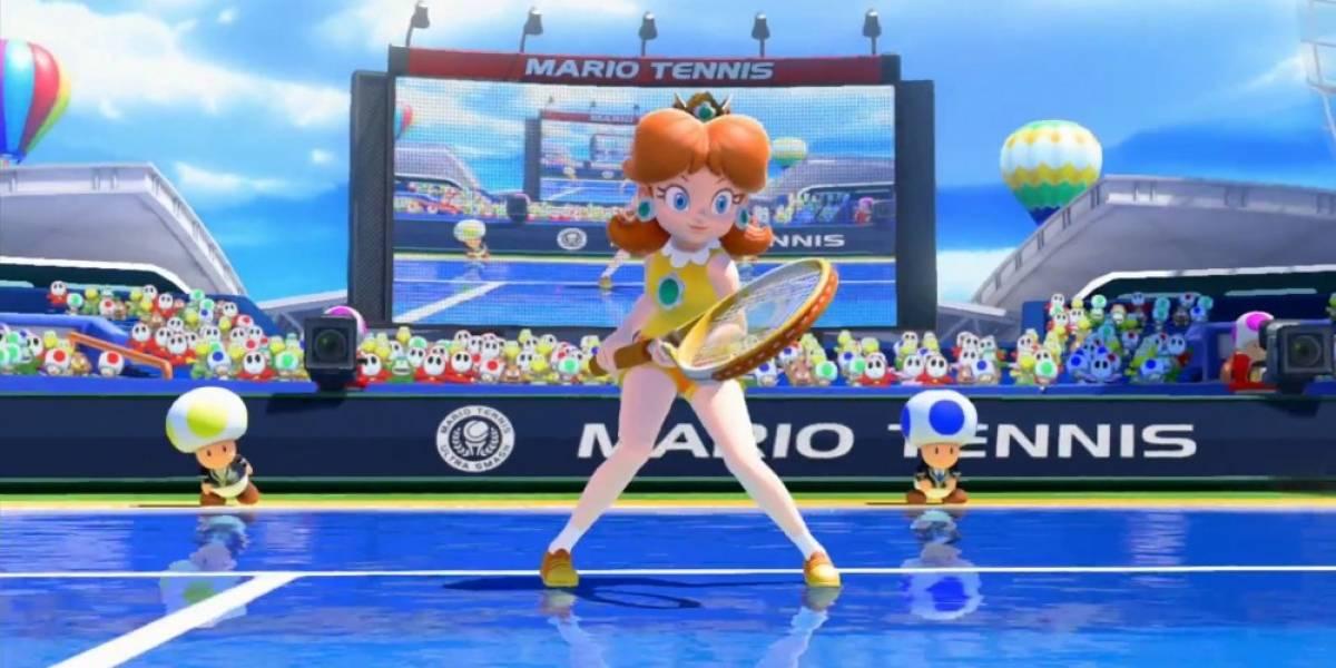 Nintendo presenta nuevo tráiler de Mario Tennis: Ultra Smash