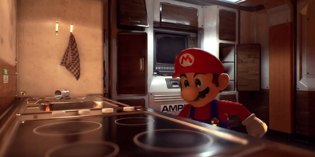Así se ve Mario Bros. con el motor Unreal Engine 4