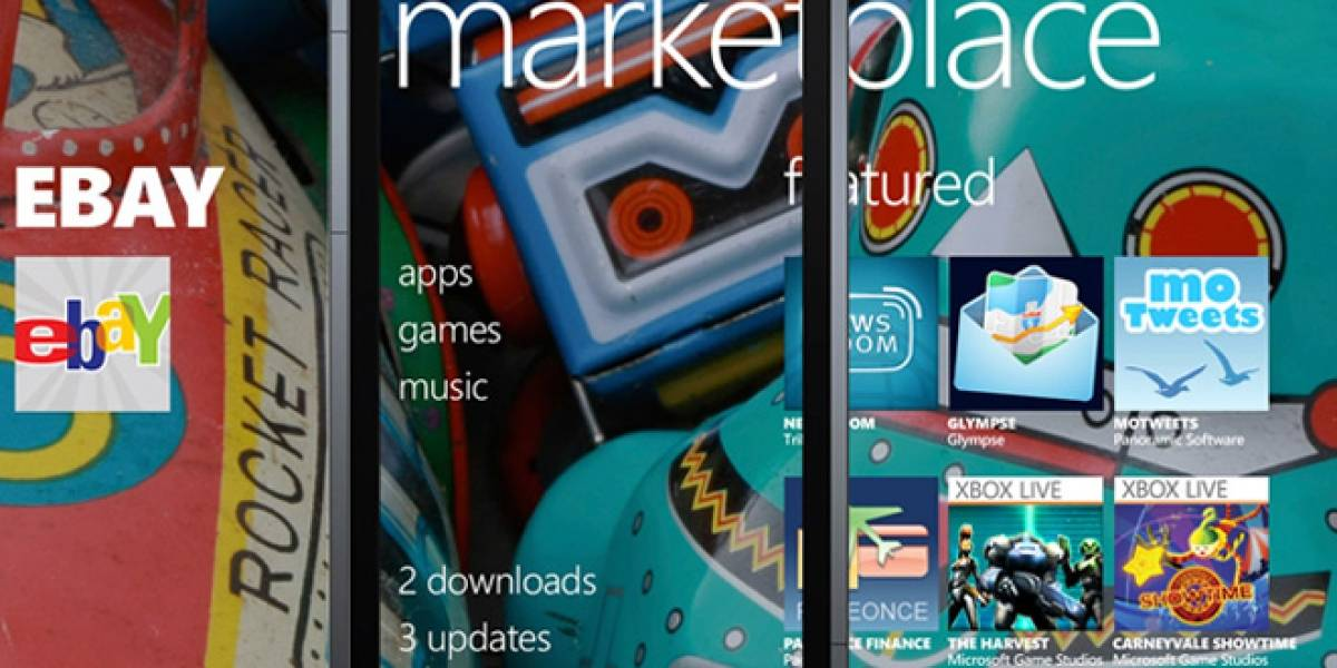 Windows Phone Marketplace rebasó las 60 mil aplicaciones