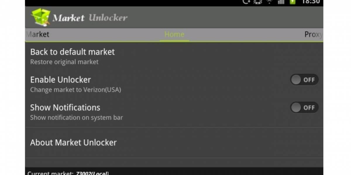 Market Unlocker [Aplicación de la Semana]