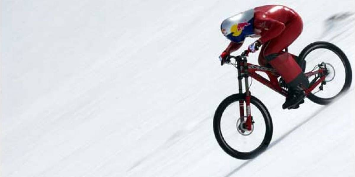 Bicicleta baja los Andes a 210.4 Km/h