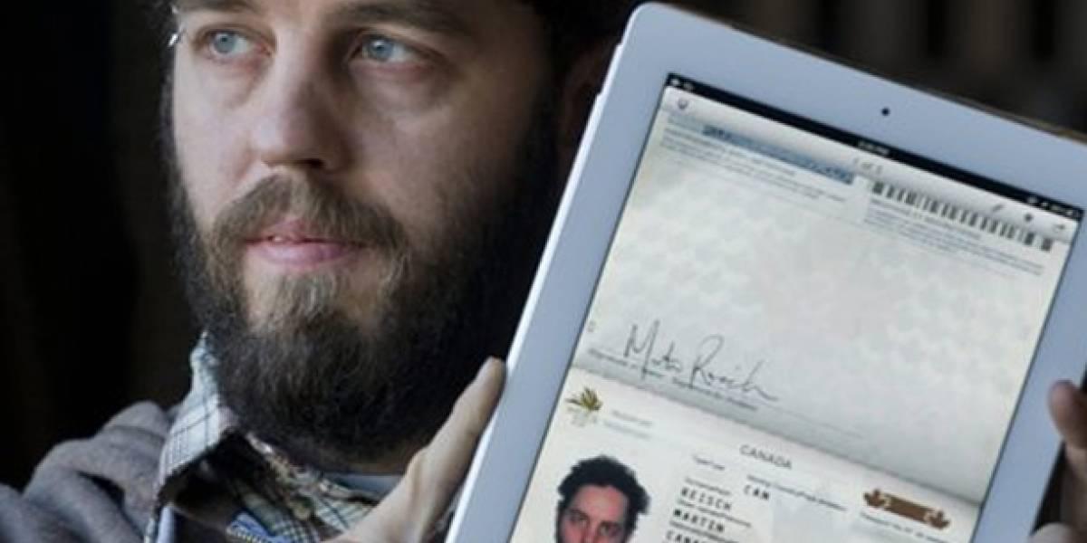 Usa su iPad como pasaporte