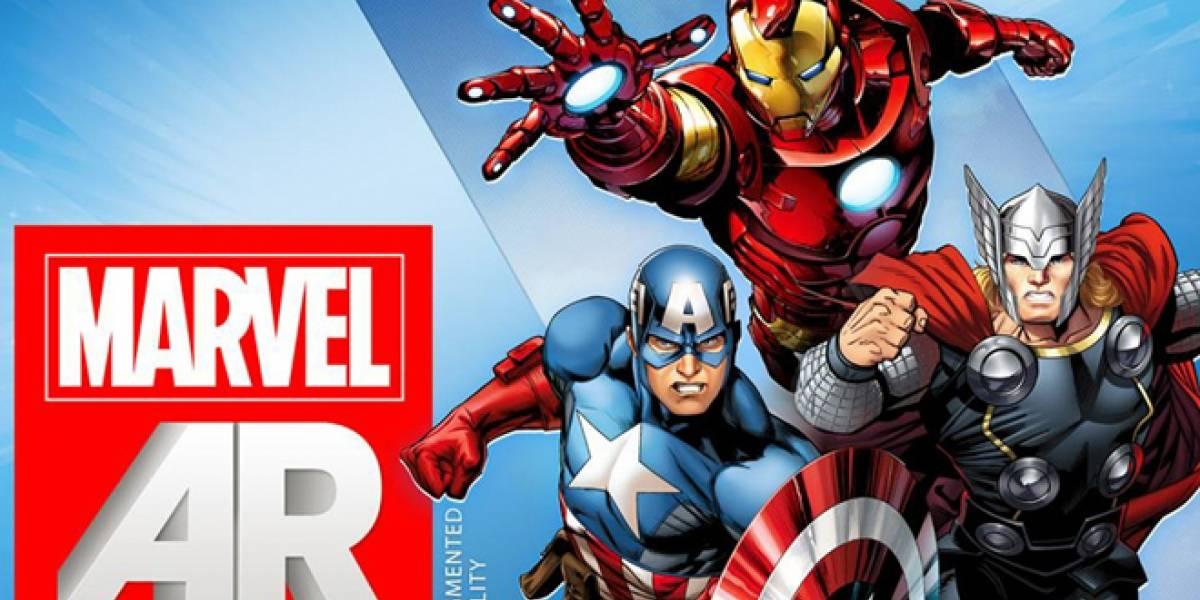 Marvel Comics se re-evoluciona a los smartphones, tablets y realidad aumentada