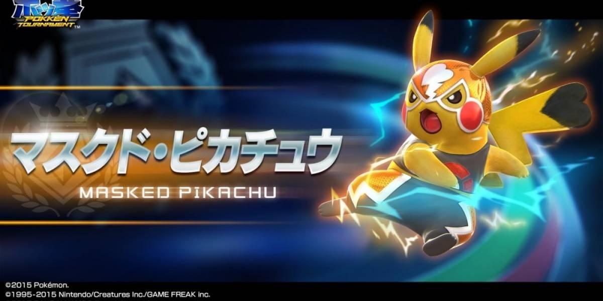 Así pelea Pikachu en Pokkén Tournament