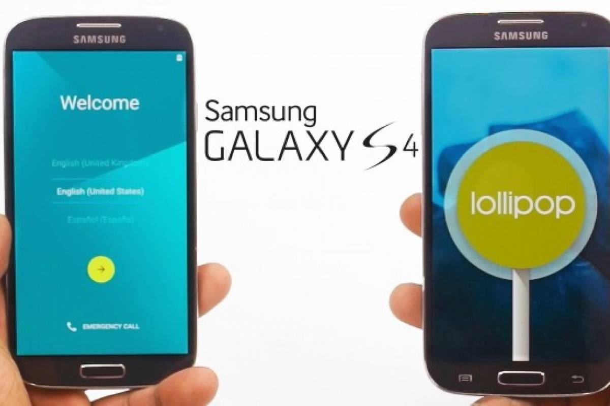 Actualiza tu Samsung Galaxy S4 a Android Lollipop oficial