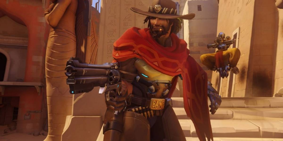 Blizzard nos muestra gameplay del vaquero McCree en Overwatch