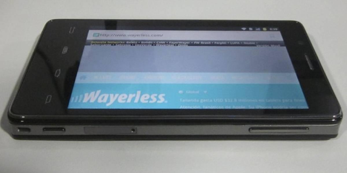 Lava XOLO X900, el primer smartphone con plataforma Intel Medfield [W Labs Express]