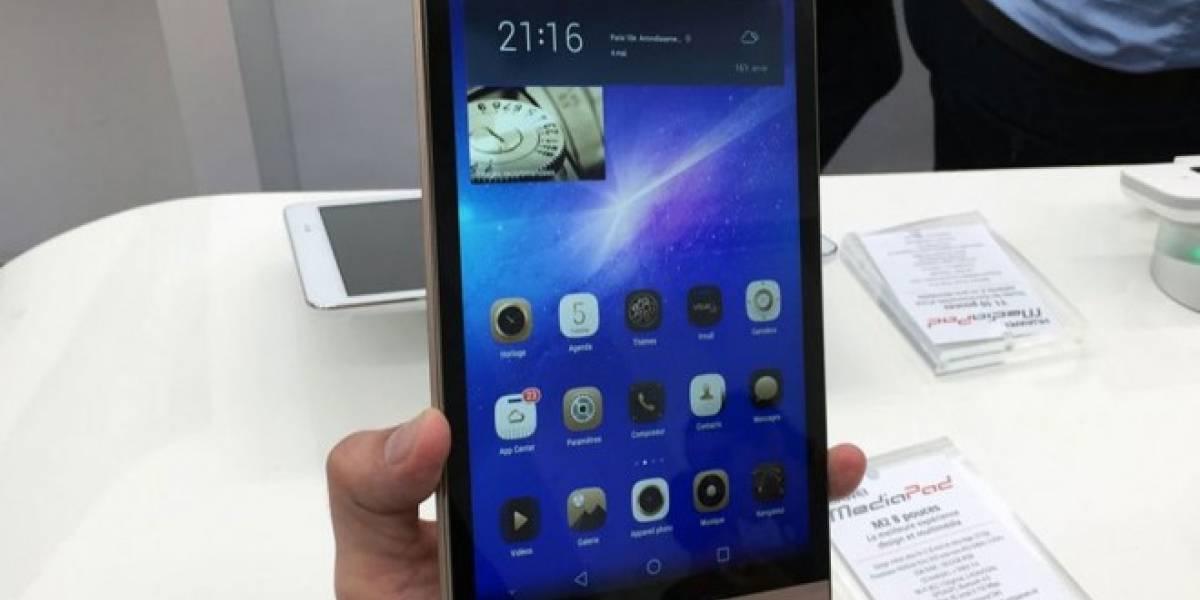 Huawei muestra su tablet MediaPad M2 con procesador octa-core de 64 bits