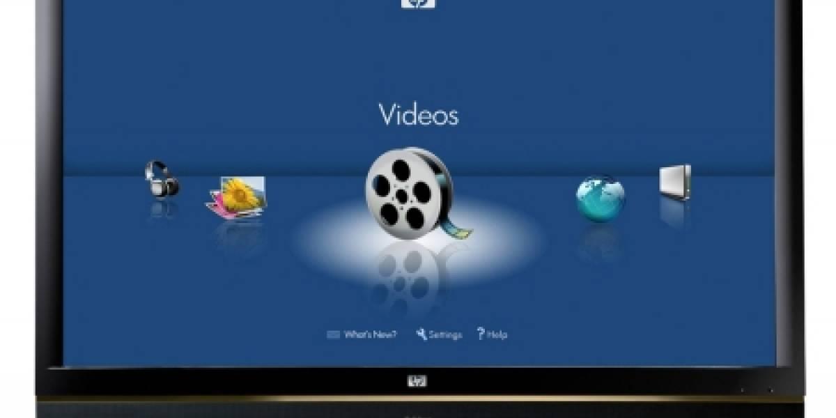 HP MediaSmart HDTV: La televisión ahora sí es personal