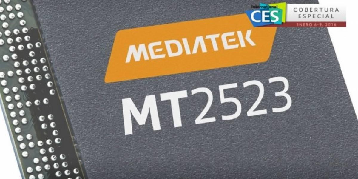 MediaTek anuncia procesador destinado para smartwatches #CES2016