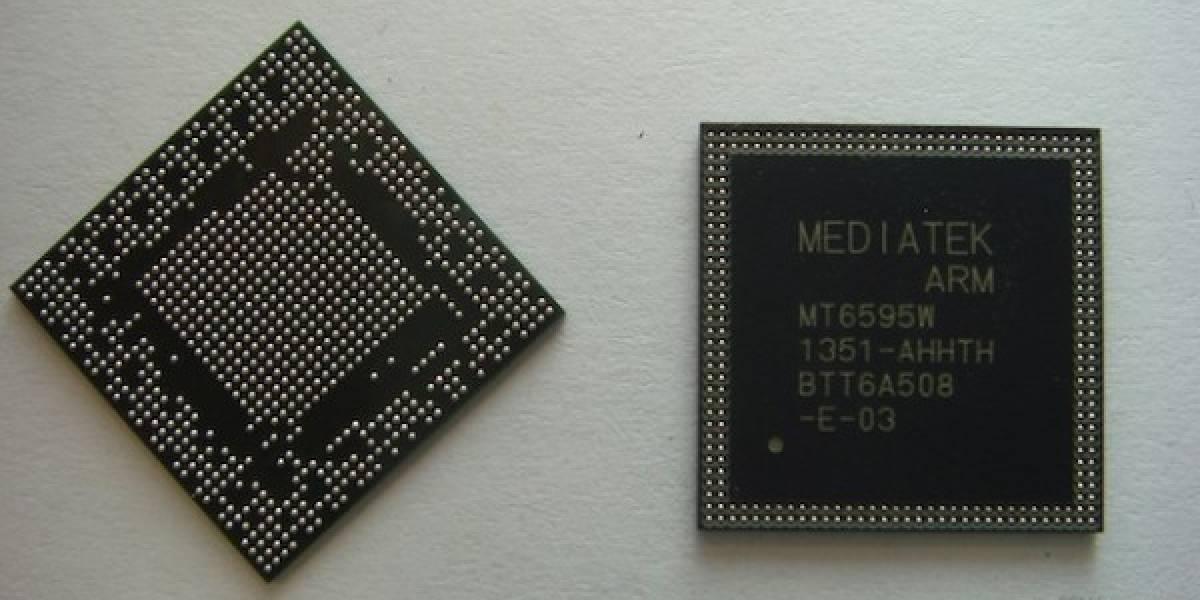 Nuevo SoC MT6595 de MediaTek con conectividad LTE