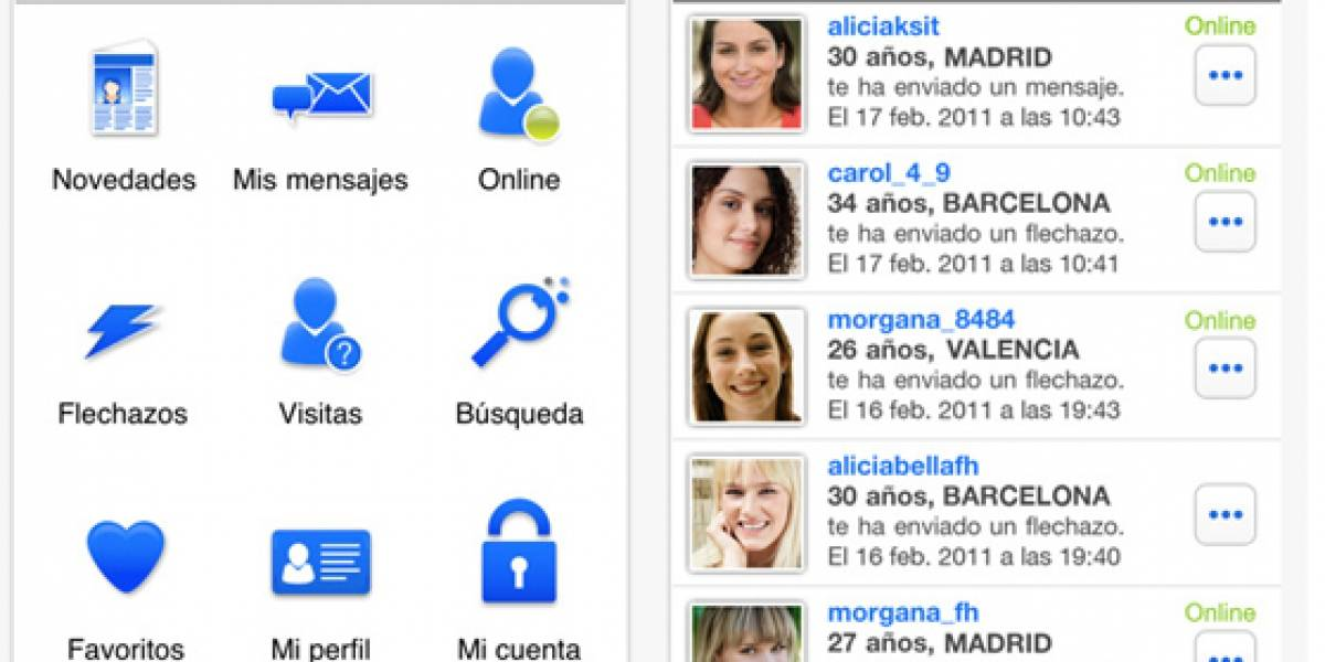 Meetic para iPhone ya está disponible en España