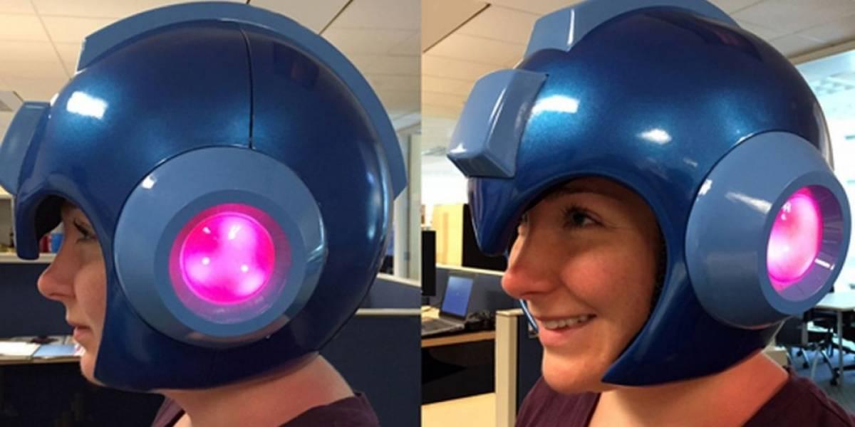 Conozcan el espectacular casco de Mega Man que venderá Capcom
