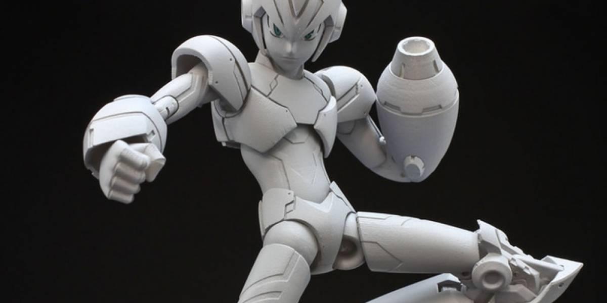 Esta figura de Mega Man X busca una oportunidad en Kickstarter