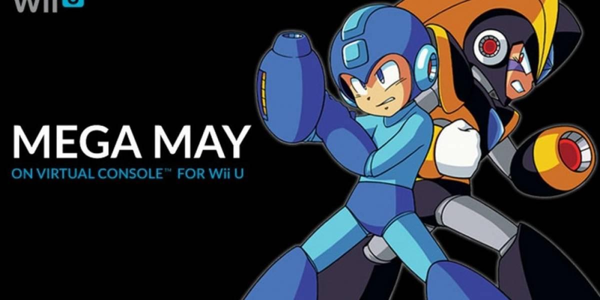 Cuatro juegos de Mega Man llegarán a la eShop de Wii U durante mayo