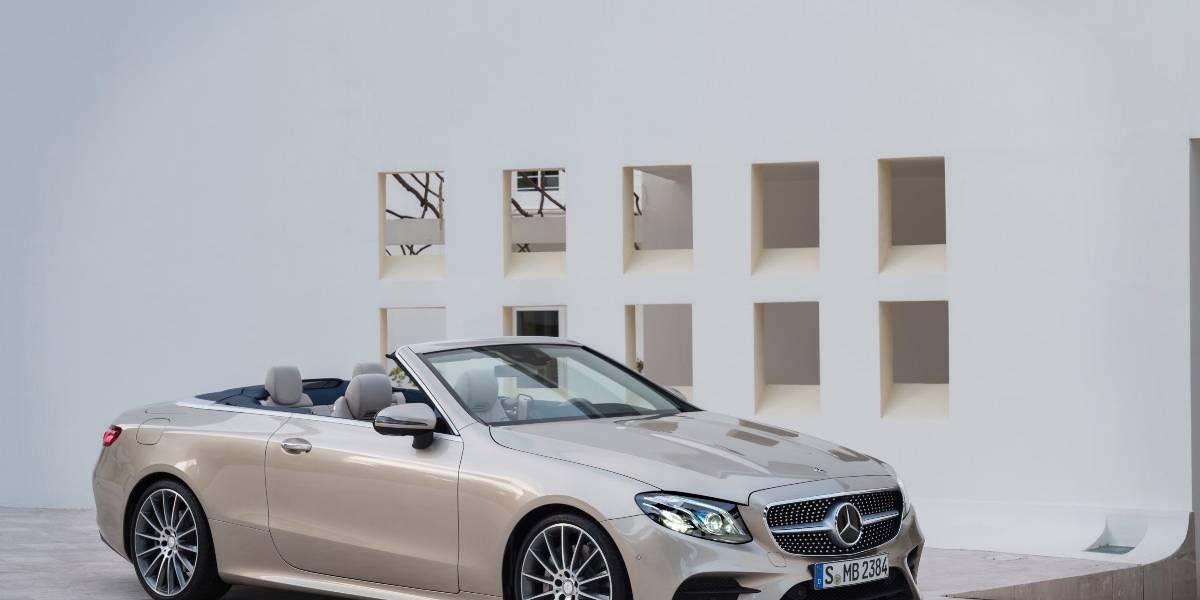 Mercedes Benz estrena su nuevo Clase E Cabrio