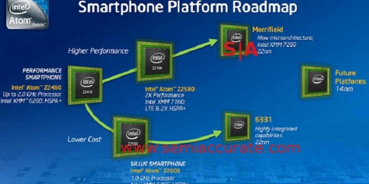 Intel Merrifield: El sucesor de Medfield llegará el 2013