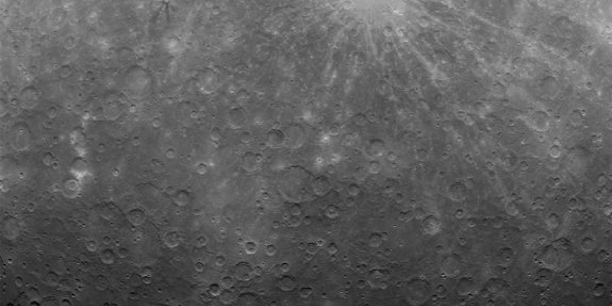 Publican la primera foto desde la órbita de Mercurio