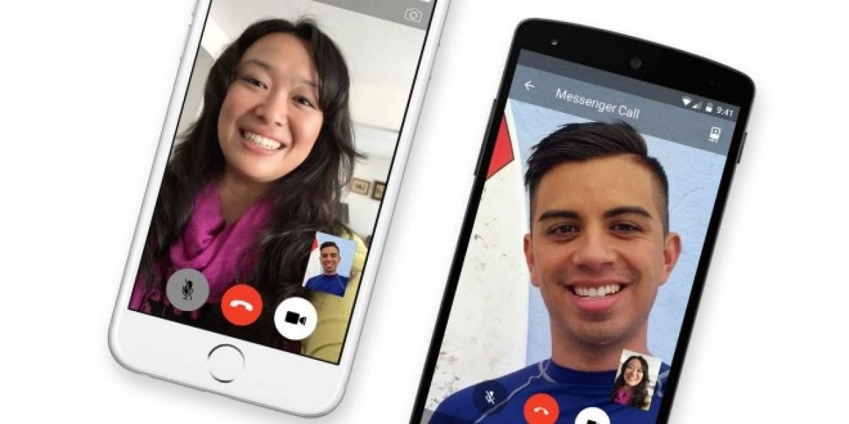 Facebook habilita las videollamadas HD en Messenger