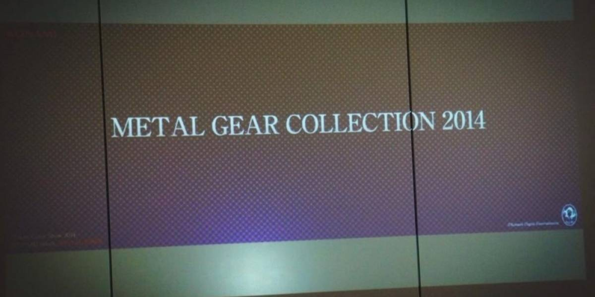 Hideo Kojima insinúa el lanzamiento de una nueva colección de Metal Gear Solid