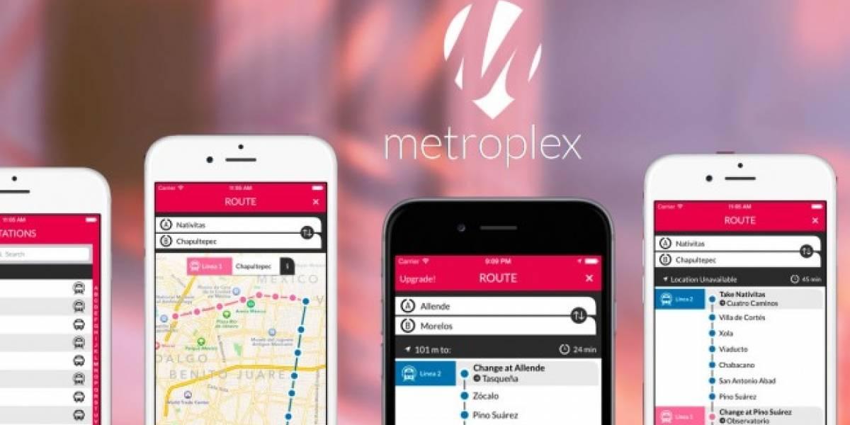 Metroplex DF, la app de la UNAM que traza rutas de traslado sin conexión móvil