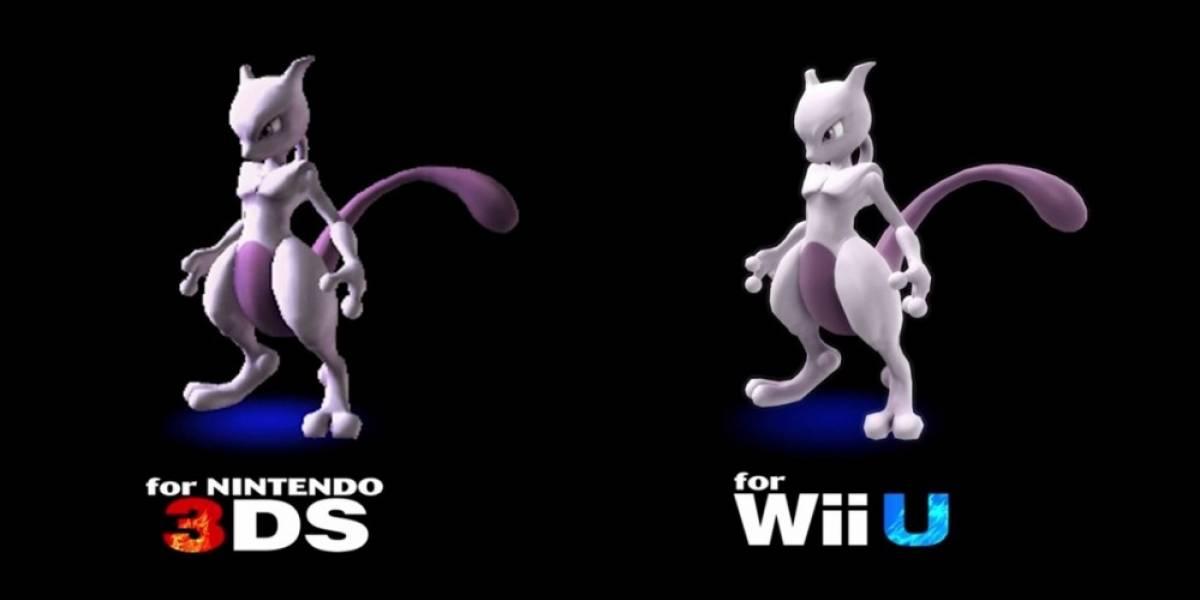 MewTwo se sumará al elenco de Super Smash Bros.