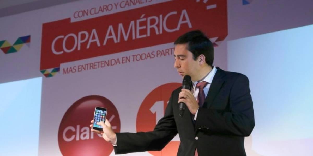 Claro Chile presenta su nueva aplicación Claro Copa América