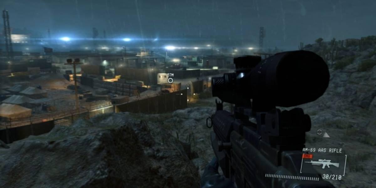 MGS V: Ground Zeroes jugable en primera persona gracias a mod