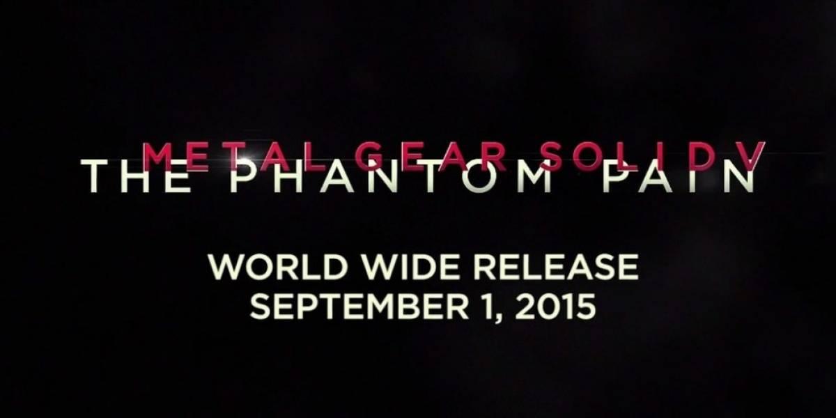 Metal Gear Solid V: The Phantom Pain se lanza el 1 de septiembre