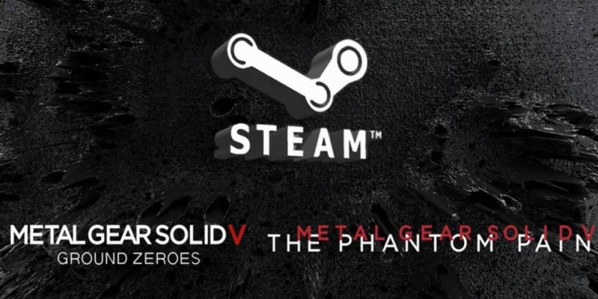 Metal Gear Solid V: The Phantom Pain y Ground Zeroes llegarán a PC #gamescom2014
